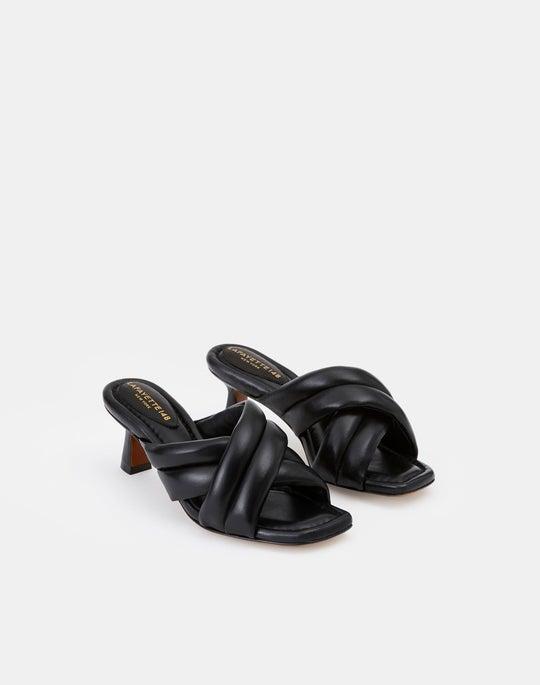 Nappa Leather Clarette Mule