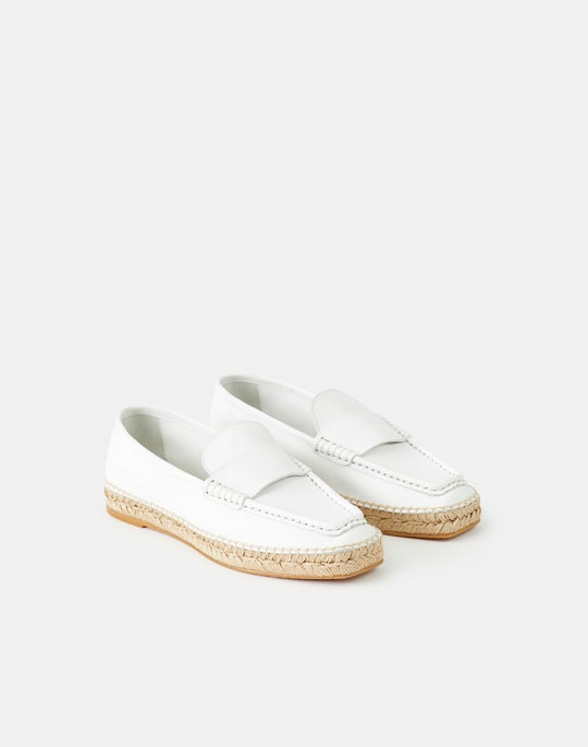 Meline Espadrille Loafer In Nappa Leather