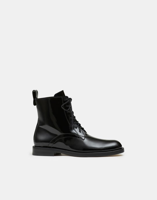Bayley Lace-Up Boot In Italian Leather