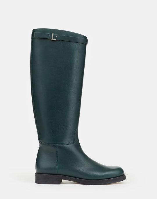 Wren Riding Boot In Italian Vachetta Leather