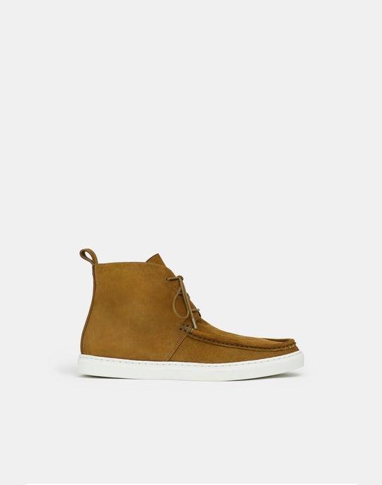 Audra High-Top Sneaker In Suede