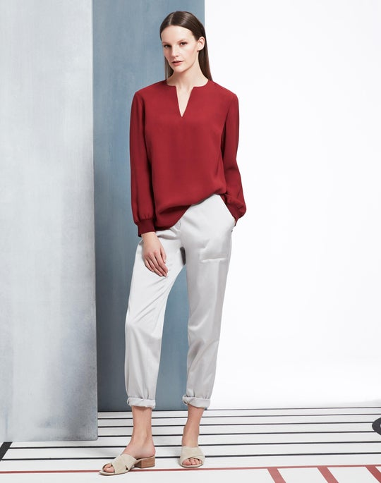 Roxy Blouse and Fulton Pant