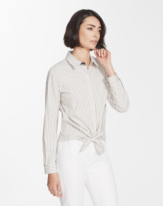 Supreme Stripe Helen Blouse