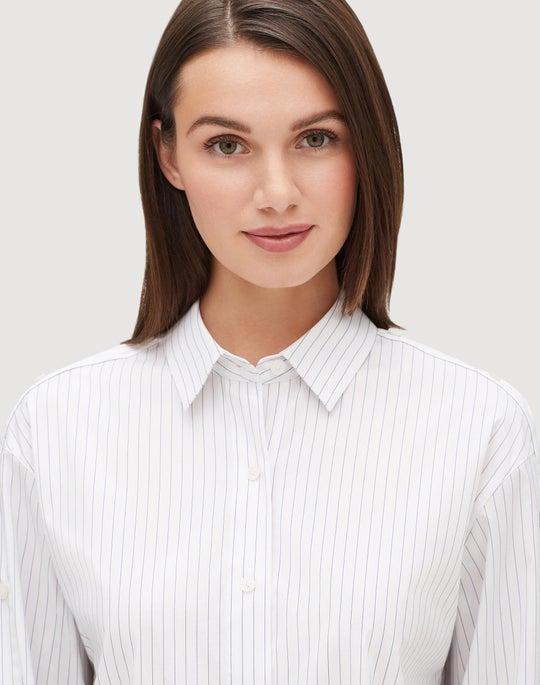 Plus-Size Stanford Stripe Trinity Shirt