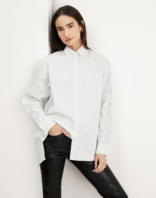 Trinity Shirt and Cropped Mercer Pant
