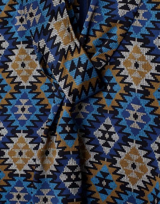 Aztec Artistry Silk Abbie Blouse
