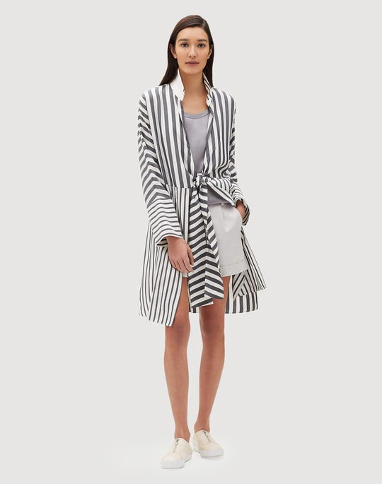 Showcase Silk Stripe Rowlen Duster