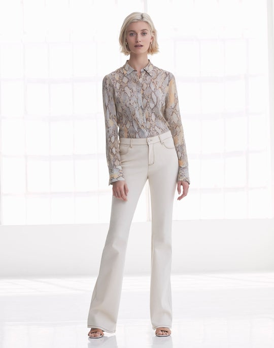 Scottie Blouse and Mercer Flare Jean