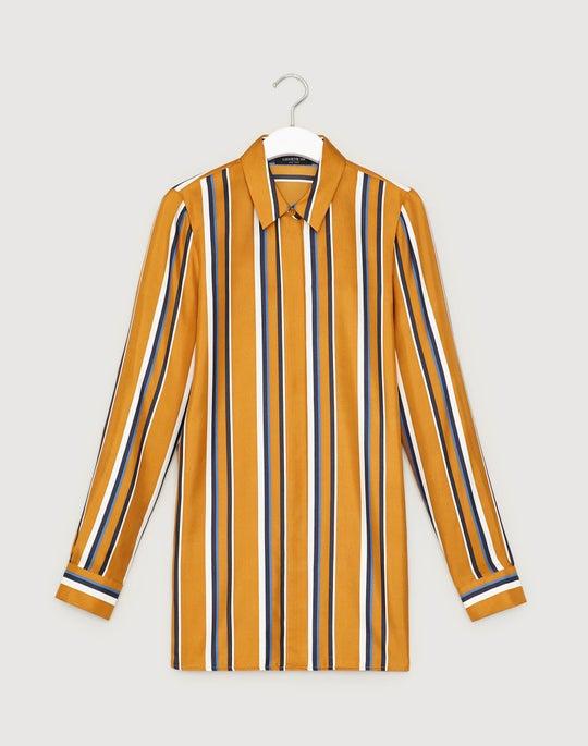 Trailblazer Stripe Silk Barry Blouse