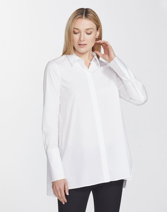 Plus-Size Excursion Stretch Porto Tunic
