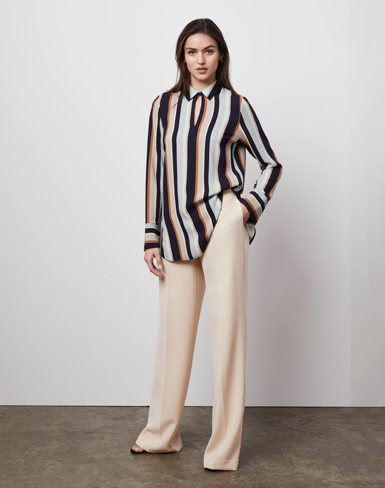 Agatha Shirt and Dalton Wide-Leg Pant