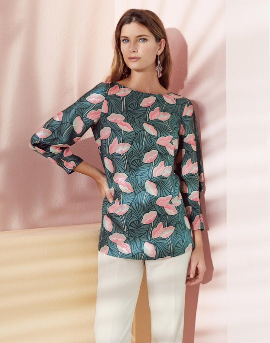 Caddie Blouse and Bleecker Pant