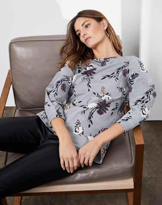 Caddie Blouse and Cropped Mercer Pant