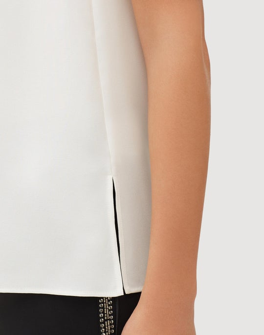 10d8503f47f02 Plus-Size Silk Double Georgette Didi Blouse