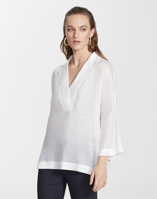 Plus-Size Gemma Cloth Jane Blouse