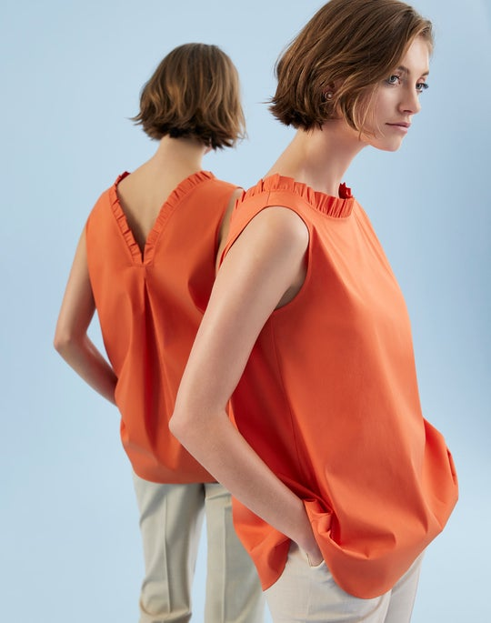 Yvette Blouse and Clinton Cuffed Pant