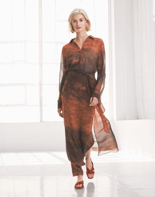 Zora Blouse and Maxi Sahara Skirt