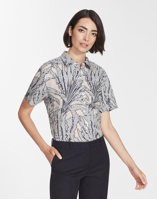 Tropical Fil Coupe Justice Blouse