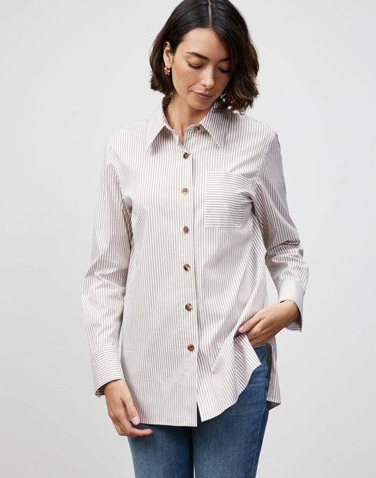 Courtland Stripe Greyson Shirt