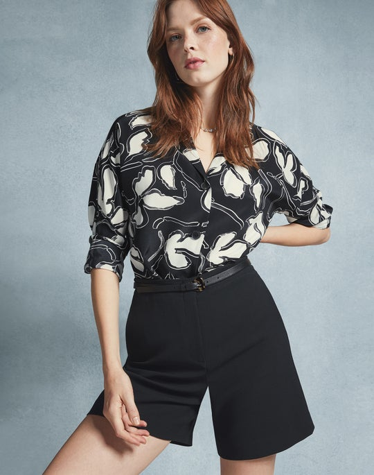 Mariabella Blouse and Ryerson Short