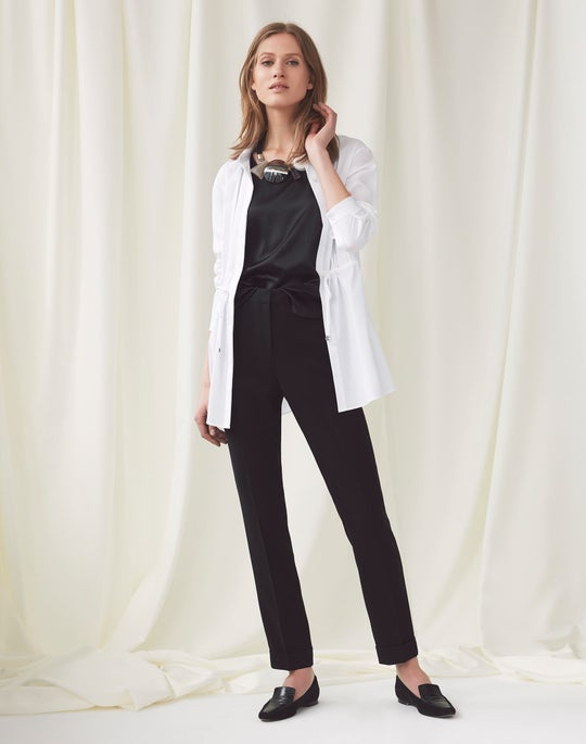 Lisa Blouse and Cuffed Clinton Pant