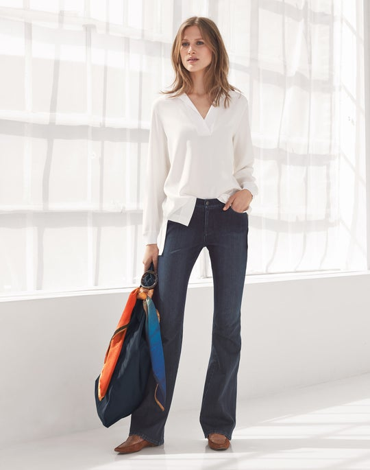 Boyd Blouse and Mercer Flare Jean