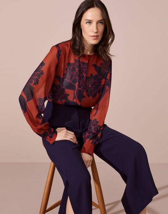 Jenalee Blouse and Downing Cropped Pant