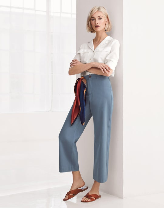 Maximina Blouse and Cropped Clark Pant
