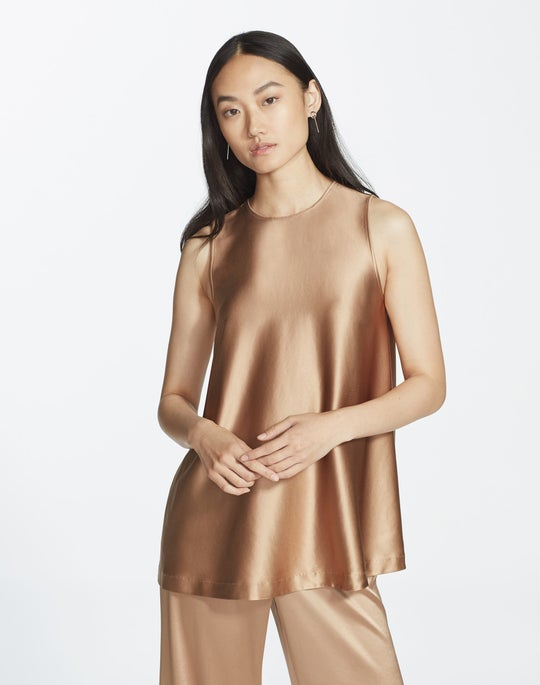 Plus-Size Reverie Satin Cloth Zorianna Blouse