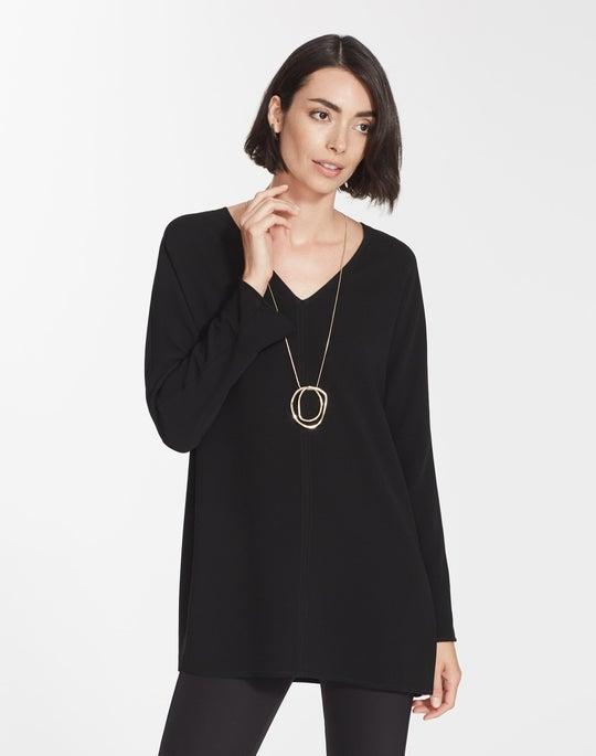 Plus-Size Finesse Crepe Thurmen Blouse