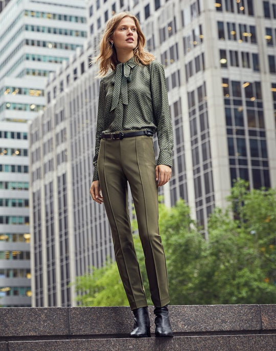 Diana Blouse and Gramercy Pant