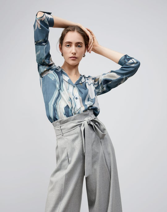 Rigby Blouse and Tillary Wide Leg Pant