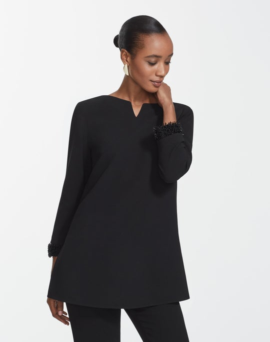 Finesse Crepe Georgia Blouse