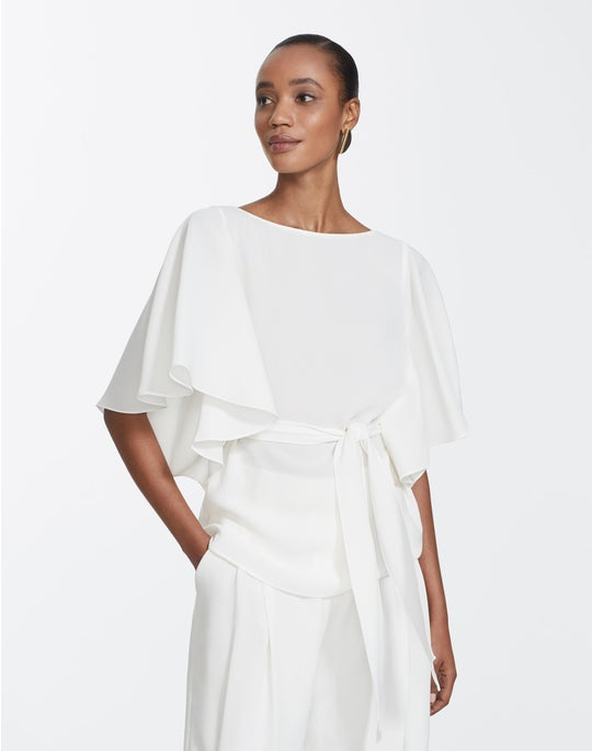 Finesse Crepe Annalee Blouse