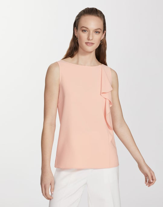 Finesse Crepe Jackie Blouse
