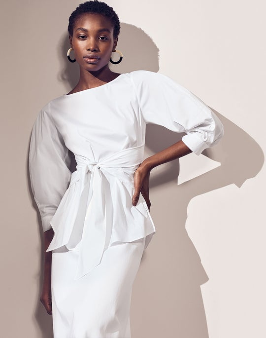 Wixton Blouse and Guthrie Skirt