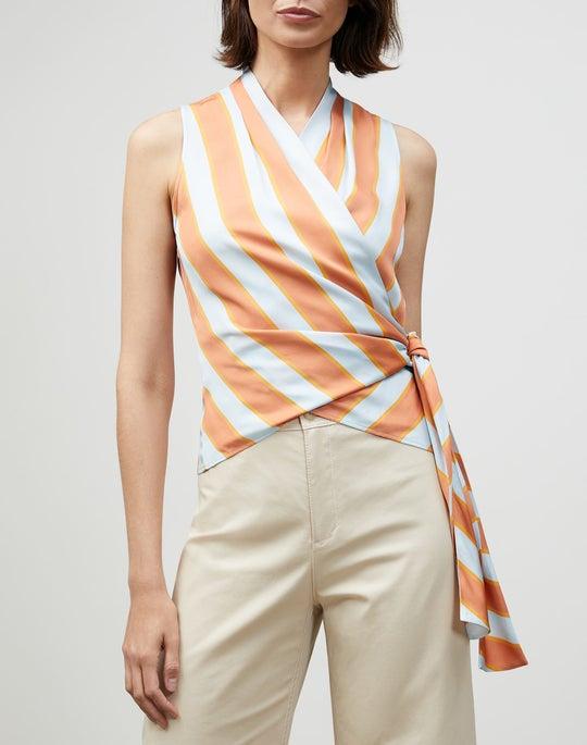 Seaside Stripe Elliana Blouse