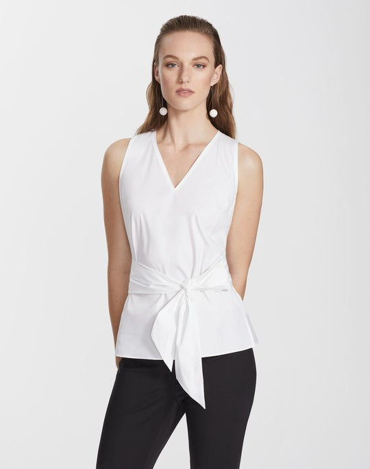 Italian Stretch Cotton Talisa Blouse