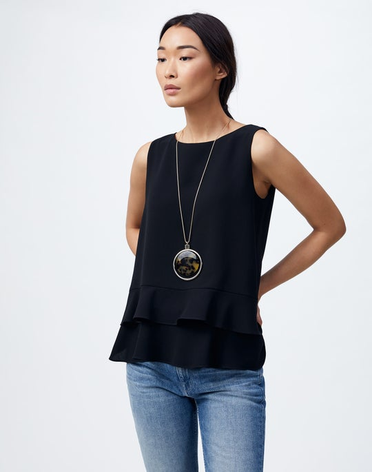 Finesse Crepe Thea Blouse