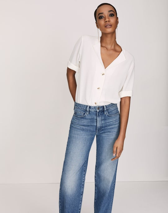 Zimmer Blouse and Mercer Jean