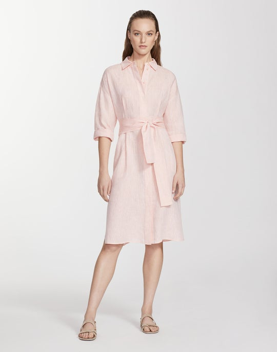 Plus-Size Illustrious Linen Rhodes Duster Dress