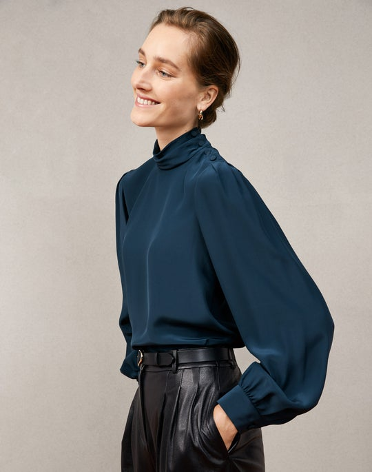 Barnes Blouse and Vestry Pant