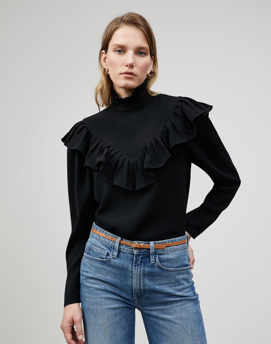Finesse Crepe Ashlyn Blouse