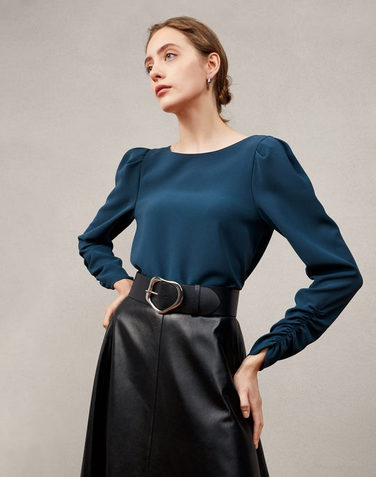 Romilly Blouse and Sumner Skirt