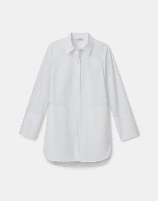 Italian Sculpted Cotton Wilkes Shirt