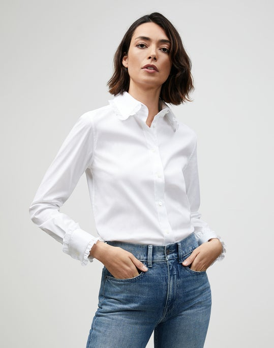 Italian Stretch Cotton Carlson Shirt
