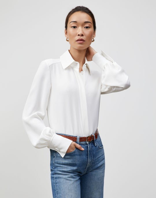 Finesse Crepe Lou Blouse
