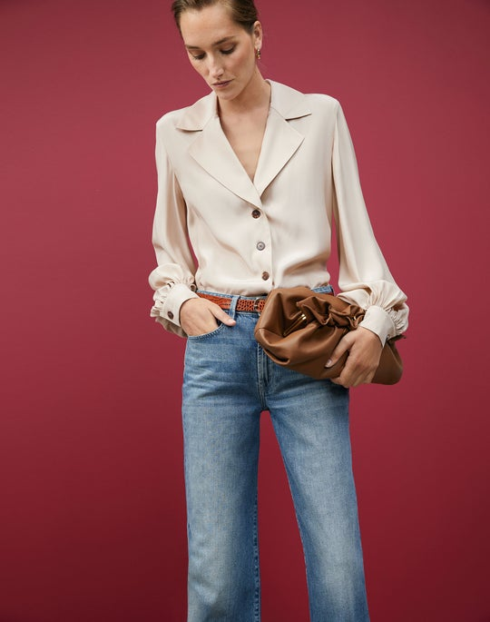 Therese Blouse and Wyckoff Jean