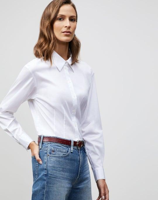 Italian Stretch Cotton Augustine Shirt