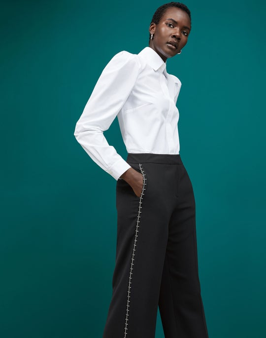 Illiana Shirt and Dalton Wide Leg Pant